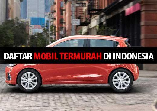Daftar Mobil Termurah di Indonesia