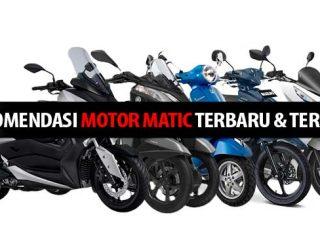 Rekomendasi Motor Matic Terbaru