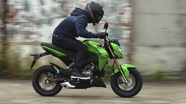 Motor Mini Kawasaki Z125 Pro SE